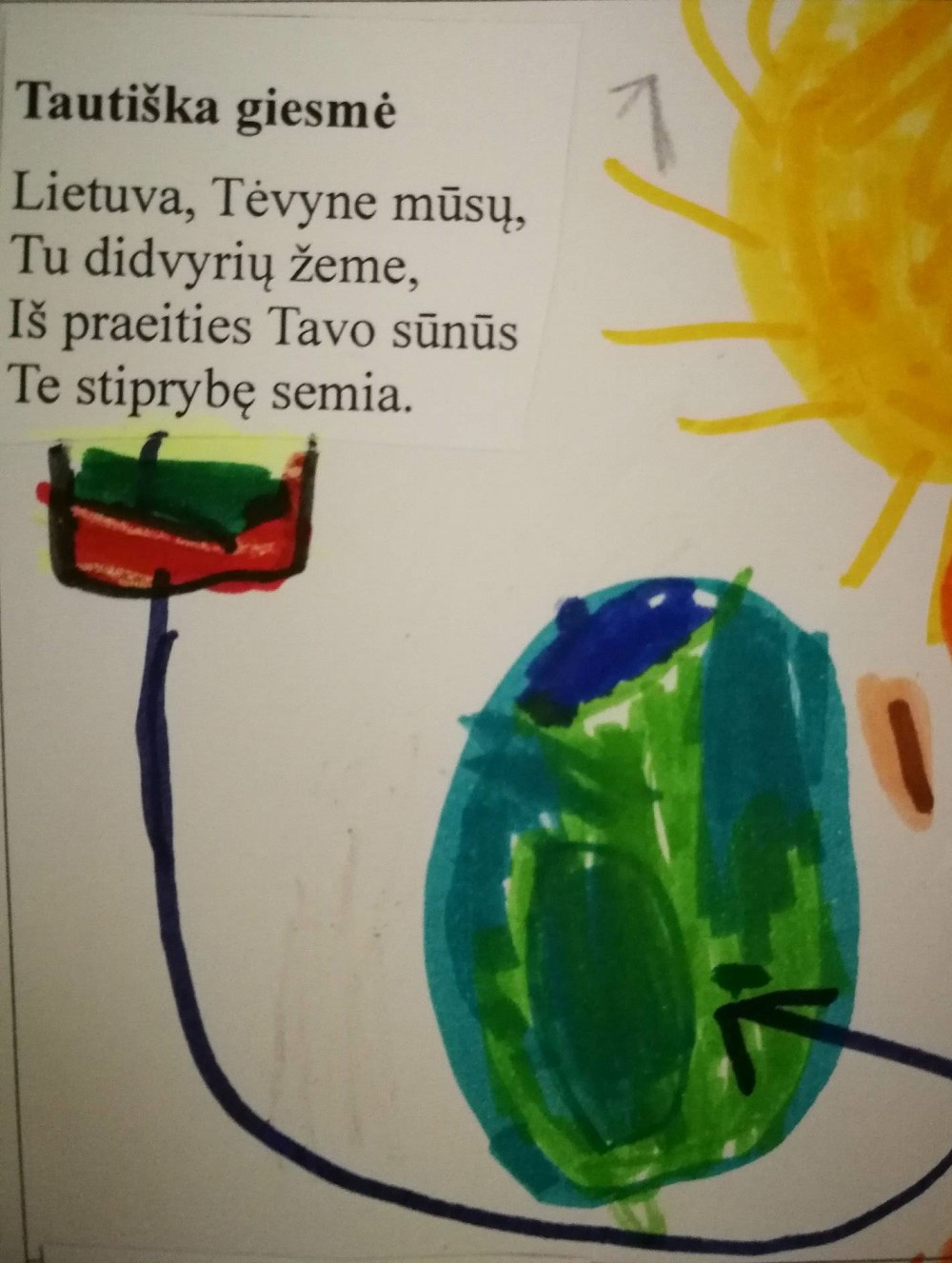 himno iliustracija